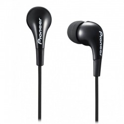AURICULARES INTRAUDITIVOS PIONEER SE-CL502-K NEGROS - DRIVERS 9MM - 20-20000HZ - 100DB - JACK 3.5MM - CABLE 1.2M
