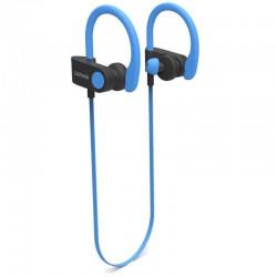 AURICULARES INTRAUDITIVOS BLUETOOTH DENVER BTE-110 BLUE - BT 4.2 - BATERÍA RECARGABLE - MICROUSB - FUNCIÓN MANOS LIBRES