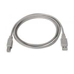 CABLE USB NANO CABLE 10.01.0103 - TIPO A-B 1.8MTS - COLOR BEIGE - 13182 - SB2402