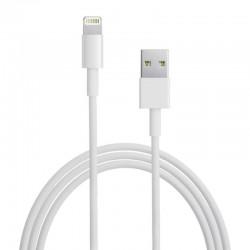 CABLE DURACELL USB5022W USB-LIGHTNING - PARA CARGA Y SINCRONIZACIÓN - 2 METROS - COLOR BLANCO