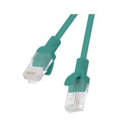 LATIGUILLO DE RED LANBERG PCU6-10CC-0050-G - RJ45 - UTP - CAT 6 - 0.50M - VERDE
