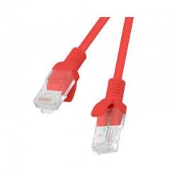 LATIGUILLO DE RED LANBERG PCU6-10CC-0100-R - RJ45 - UTP - CAT 6 - 1M - ROJO