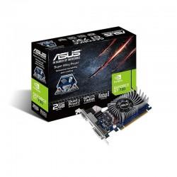 TARJETA GRÁFICA ASUS GEFORCE GT730 - GPU 902MHZ - 2GB GDDR5 - PCI EXPRESS 2.0 - DVI-D / HDMI / VGA - COMPATIBLE PERFIL BAJO