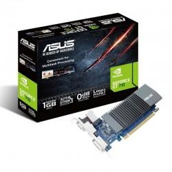 TARJETA GRÁFICA ASUS GEFORCE GT 710 - 1GB GDDR5 - PCIE X16 2.0 - HDMI - DVI-D - VGA - COMPATIBLE PERFIL BAJO