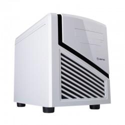 CAJA CUBO HIDITEC SNOW KUBE CHA010002 - COMPATIBLE FUENTE ATX ESTANDAR - 1X5.25 - 2X3.5 - 1X2.5 - 1XUSB3.0 - 2XUSB2.0 - LECTO