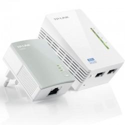 PLC/POWERLINE TP-LINK TL-WPA4220KIT KIT EXTENSOR WIFI AV500 A 300MBPS 2P ETHERNET 10/100 BLANCO