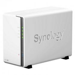 NAS SYNOLOGY DISKSTATION DS216SE - CPU 800MHZ - 256MB DDR3 - 2 BAHÍAS HD (MAX. 16TB) - 2XUSB 2.0 - RJ45