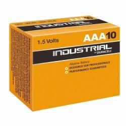 PACK DE 10 PILAS DURACELL INDUSTRIAL ID2400B10 - 1.5V - ALCALINA AAA