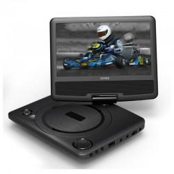 DVD PORTÁTIL DENVER MT-783NB - PANTALLA 7'/17.78CM - ENTRADA USB - ALTAVOCES ESTEREO - CONTROL REMOTO - BOLSA SOPORTE - BAT L