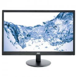 MONITOR LED MULTIMEDIA AOC M2470SWH - 23.6'/59.9CM - MVA - 1920X1080 FHD - 16:9 - 250CD/M2 - 20M:1 - 5MS - VGA - HDMI - VESA