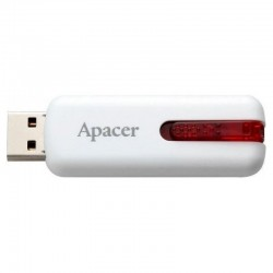 PENDRIVE APACER AH326 32GB WHITE - USB 2.0 - COMPATIBLE WINDOWS/MAC/LINUX