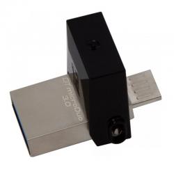PENDRIVE KINGSTON DATATRAVELER MICRODUO - 16GB - CONECTORES USB Y MICROUSB - COMPATIBLE OTG - USB 3.0