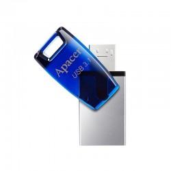 PENDRIVE APACER AH179 32GB BLUE - CONECTORES USB 3.1 Y MICROUSB 2.0 - COMPATIBLE OTG / WINDOWS/MAC/LINUX