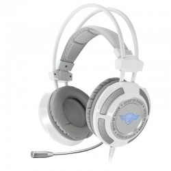 AURICULARES CON MICRÓFONO SPIRIT OF GAMER ELITE-H70 WHITE - DRIVERS 50MM - CONECTOR USB - CABLE 2.4M