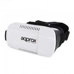 GAFAS DE REALIDAD VIRTUAL APPROX APPVR01 - SMARTPHONES MÓVILES COMPATIBLES 3.5-6'/8.8-15.2CM - DISTANCIA FOCO/PUPILA AJUSTABL