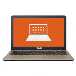 PORTÁTIL ASUS A540NA-GQ058 - INTEL N3350 1.1GHZ - 4GB- 500GB - 15.6'/39.6CM HD - NO ODD - BT 4.2 - ENDLESS OS - NEGRO
