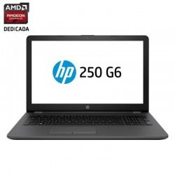 PORTÁTIL HP 250 G6 1XN34EA - I5-6200U 2.3GHZ - 4GB - 256GB SSD - RAD 520 2GB - 15.6'/39.6 CM HD - DVD+-RW - WIFI - BT- HDMI