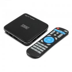 ANDROID TV BOX 3GO APLAY4 - 4K - QC CORTEX A53 - 16GB - 2GB RAM - HDMI - LAN - WIFI - RANURA MICROSD - ANDROID 7.1 - MANDO A