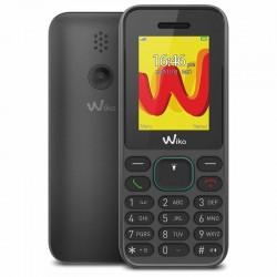 TELÉFONO MÓVIL WIKO LUBI 5 BLACK - DISPLAY 1.8'/4.5CM - DUAL SIM - CÁMARA QVGA - SLOT MICROSD (HASTA 32GB) - RADIO FM - BT -