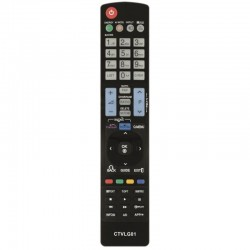 MANDO A DISTANCIA CTVLG01 COMPATIBLE CON TV LG SMART TV - NO PRECISA PROGRAMACIÓN
