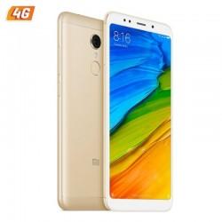 SMARTPHONE MÓVIL XIAOMI REDMI 5 GOLD - 5.7'/14.4CM - 16GB - OC 1.8GHZ - 2GB RAM - CAM 12/5MP - 4G - DUAL SIM - BAT 3300MAH -