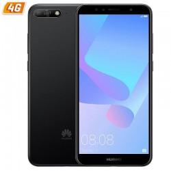 SMARTPHONE MÓVIL HUAWEI Y6 2018 DS BLACK - 5.7'/14.5CM 18:9 - 13/5MP - QC A53 1.4GHZ -16GB - 2GB RAM - ANDROID8.0 - 4G - DUAL
