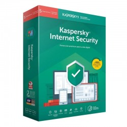 ANTIVIRUS KASPERSKY INTERNET SECURITY 2019 - 5 LICENCIAS / 1 AÑO - NO CD - PROTECCIÓN EFICAZ - PAGO SEGURO - PARA PC/MAC/MOVI
