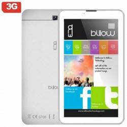 TABLET CON 3G BILLOW X703W - QC 1.3GHZ - 8GB - 1GB RAM - 7'/25.6CM HD IPS - ANDROID 8.1 - DUAL CAM - WIFI N - BT - 2*SIM - BA