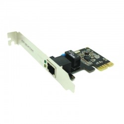 TARJETA PCI EXPRESS APPROX APPPCIE1000 - CHIPSET REALTEK RTL8111C - PUERTO ETHERNET RJ45 - TRANSFERENCIA 10/100/1000 MBPS - P