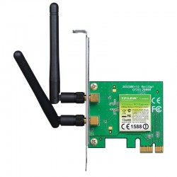 TARJETA RED TP-LINK TL-WN881ND 300MBPS 2.4GHZ WIRELESS N PCIEXPRESS 2XANTENAS DESMONTABLES OMNIDIRECCIONALES