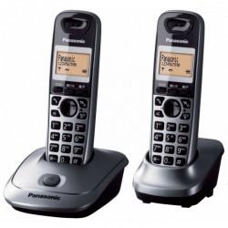 TELÉFONO INALÁMBRICO DECT PANASONIC KX-TG2512 - PACK DÚO (KX-TG2512 + SUPLETORIO) - IDENTIFICACIÓN LLAMADAS- TECLADO ILUMINAD