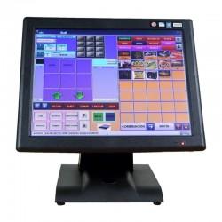 TPV KT-700 LED - INTEL J1900N QC 1.97GHZ - 4GB DDR3 - 64GB SSD - MONITOR 15&34/38.1CM TÁCTIL - 5XUSB 2.0 - USB3.0 - 2XCOM - V