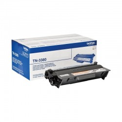 TONER NEGRO BROTHER TN-3380 - 8000 PAGINAS APROX - COMPATIBLE SEGUN ESPECIFICACIONES