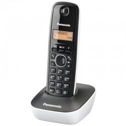 TELÉFONO INALÁMBRICO DECT PANASONIC KX-TG1611 NEGRO/BLANCO - IDENTIFICACIÓN LLAMADAS- AGENDA 50 ENTRADAS - PANTALLA LCD 3.17C