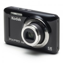 CÁMARA DIGITAL KODAK PIXPRO FZ53 NEGRA - 16MPX - LCD 2.7'/6.82CM - ZOOM 5X OPT - ANGULAR 28MM - VÍDEO HD 720P - USB 2.0 - EST