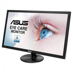 MONITOR LED MULTIMEDIA ASUS EYE CARE VP229HA - 21.5'/54CM - 1920*1080 - 250CD/M2 - 5MS - ALT 2*1.5W - HDMI - VGA - LUZ AZUL R