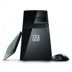 KVX WINDOWS 10 01 INTEL G4500 / 4GB RAM DDR4/ 120GB SSD / H110M-S2H SK1511 / TECLADO Y RATÓN / 500W 85% EFIC / LECTOR TARJET