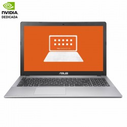 PORTÁTIL ASUS R510VX-DM530 - I7-7700HQ 2.8GHZ - 8GB - 1TB - GEFORCE GTX950M 4GB - 15.6'/39.6CM LED FHD - DVD RW - ENDLESS OS