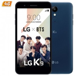 SMARTPHONE MÓVIL LG K9 BLUE - 5'/12.7CM HD - CÁMARA (8+5)/5MP - QC 1.3GHZ - 16GB - 2GB RAM - 4G - BT - DUAL SIM - BATERÍA 250