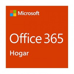 MICROSOFT OFFICE 365 HOGAR - WORD - EXCEL - POWERPOINT - ONENOTE - OUTLOOK - PUBLISHER - ACCESS - 6 USUARIOS/1 AÑO - MULTIDIS
