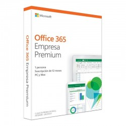 MICROSOFT OFFICE 365 EMPRESA PREMIUM - WORD - EXCEL - POWERPOINT - ONENOTE - OUTLOOK - PUBLISHER - ACCESS - 1 LICENCIA/1 AÑO
