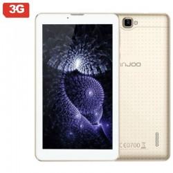 TABLET CON 3G INNJOO F5 GOLD - QC 1.3GHZ - 1GB RAM - 8GB - 7'/17.78CM 1024X600 IPS - ANDROID 5.1 - 0.3/2MPX - DUAL SIM - BAT